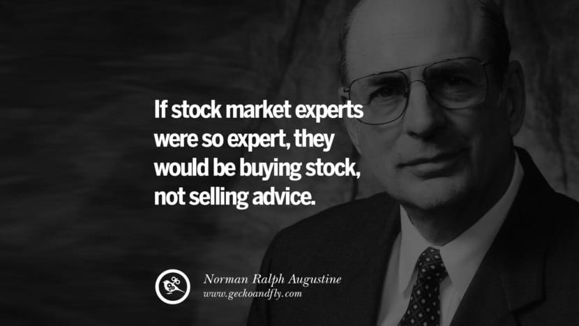 Stock market experts
